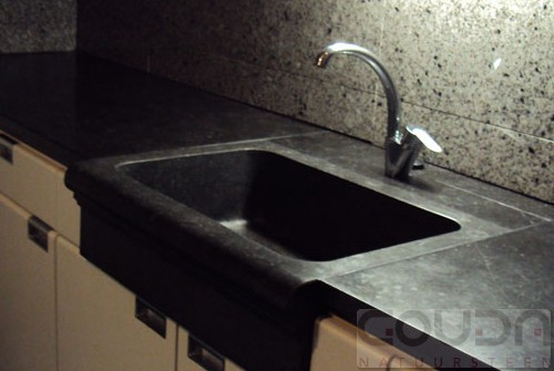 Natuursteen Achterwand Keuken : Keuken Belgisch Hardsteen Gouda Natuursteen; specialist in marmer